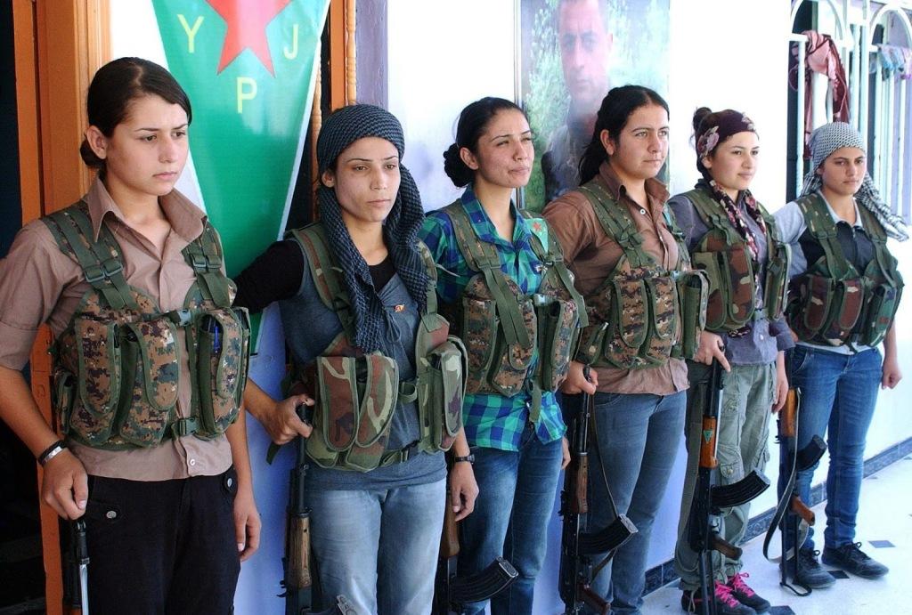 Военные формирования курдов на страже борьбы с терроризмом.