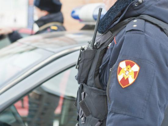 В Новосибирске сотрудники Росгвардии задержали подозреваемых в совершении угона автомобиля