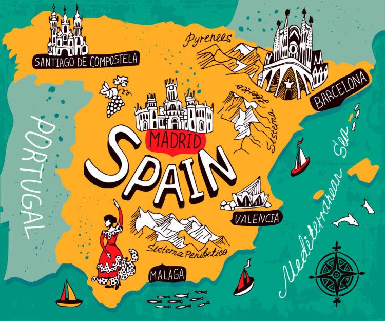 Вид на жительство без права на работу в Испании