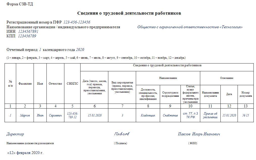 С 1 февраля 2020 года вступили в силу новые правила увольнения сотрудников.