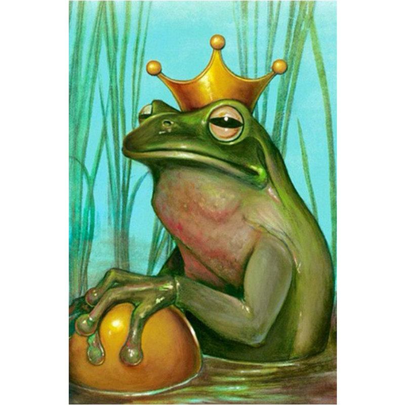 Картинка жаба в короне