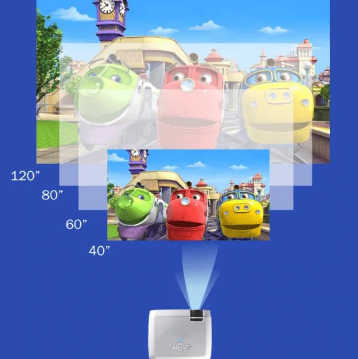 Wifi Зеркальный мини-проектор D40 для смартфонов