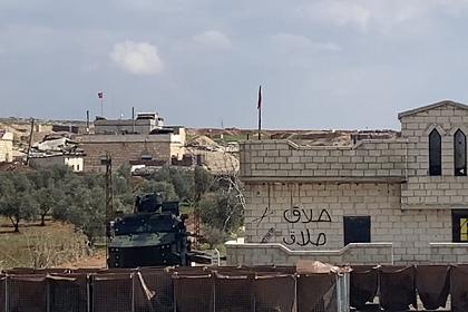 Турция начала отвод тяжелого вооружения в Идлибе