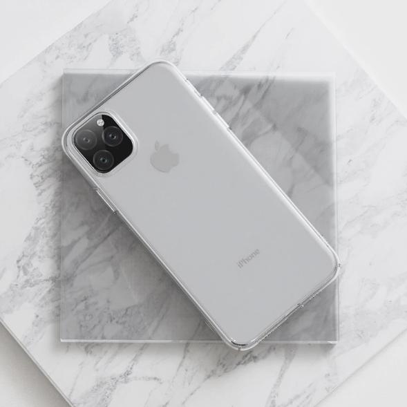 Ультра тонкий тонкий мягкий силиконовый чехол для iPhone