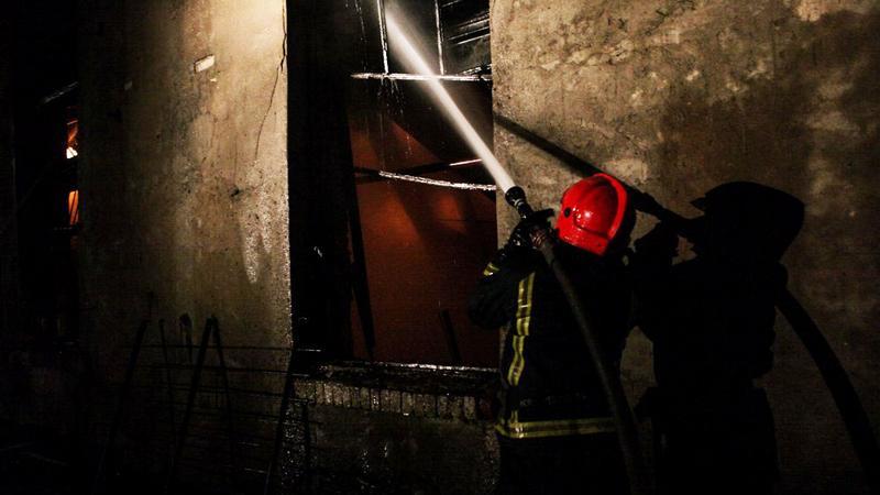 В Красногвардейском районе двое жителей напились и едва не угорели при пожаре