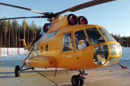 В России обстреляли вертолет с грузом горючего