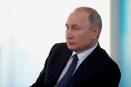 Путин назвал здоровье россиян главным при выборе даты голосования