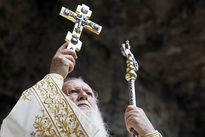 Вселенский патриарх остановил богослужения из-за коронавируса