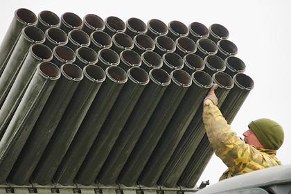 Украина разместила «Грады» на линии соприкосновения в Донбассе