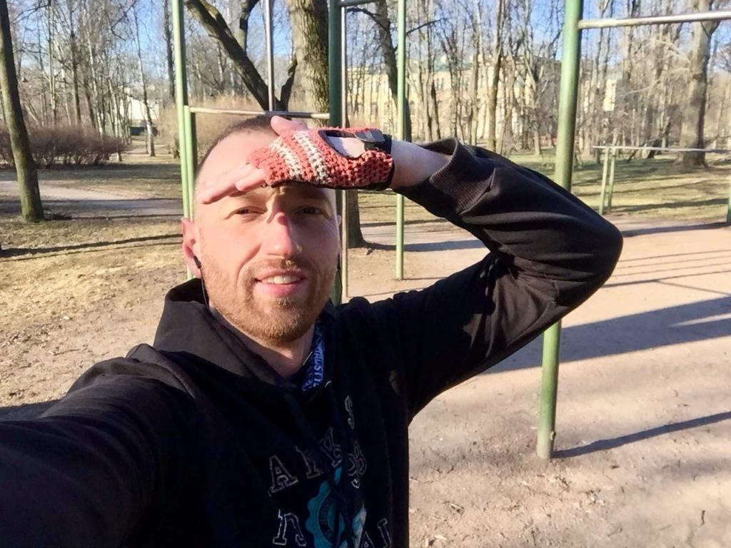 Игорь Мирзоев Занятие спортом на улице - отличная альтернатива разговорам о Короновирусе.