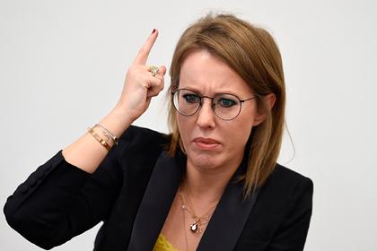 Собчак увидела признаки сумасшествия в действиях Центробанка