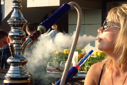 В России запретят курить кальяны в барах и ресторанах