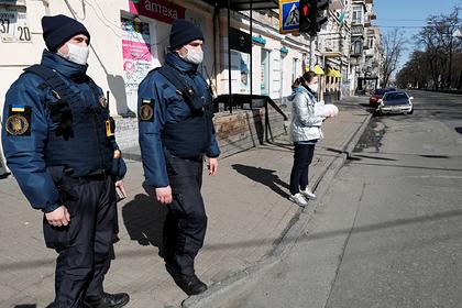 Украина объявила режим ЧС по всей стране из-за коронавируса