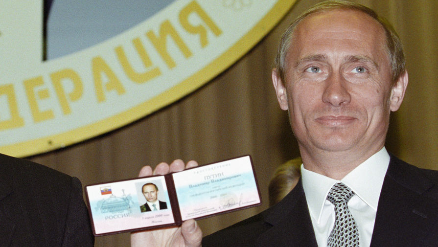 Ровно 20 лет назад 26.03.2000 Владимир Путин был впервые был избран президентом России