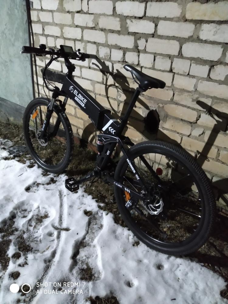 Электровелосипед: в шутку называю его электровозом