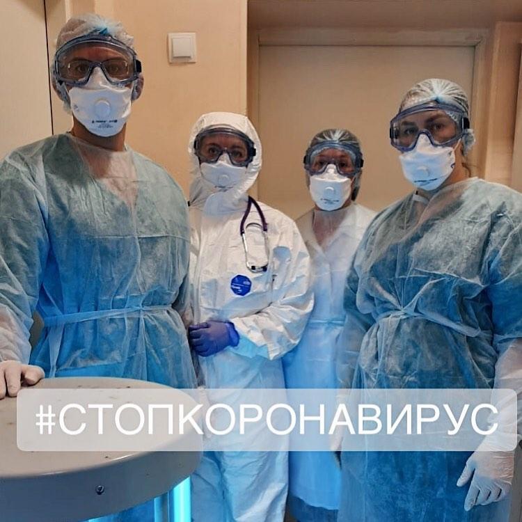 Медперсоналу, работающему с больными коронавирусом установят доплату до 80 тыс. руб.