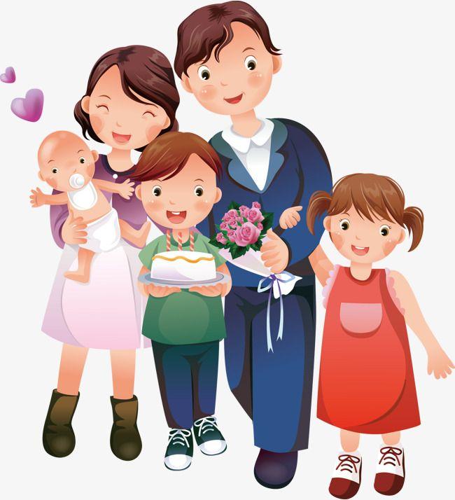 Многодетная семья картинки для детей