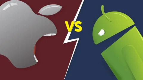 Android vs IOS: выбор за Вами