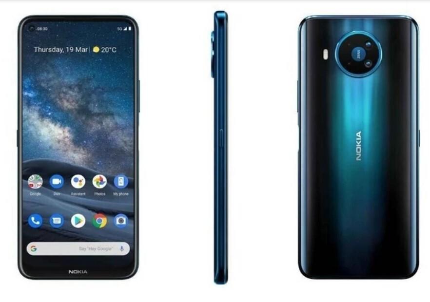 Nokia 8.3 5G дебютирует в мире.