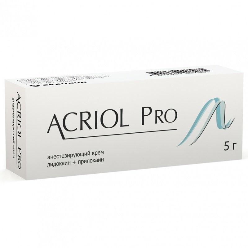 «Обезболивающий» крем Акриол Pro